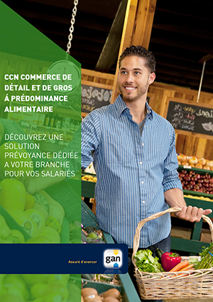 Illustration Commerce alimentaire